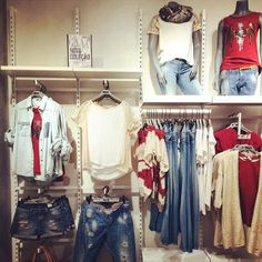 New Collection Tiffosi Boutique Interior, Clothing Store Interior, Retail Design, Must Haves, Display, Denim, Clothes, Collection, Fashion