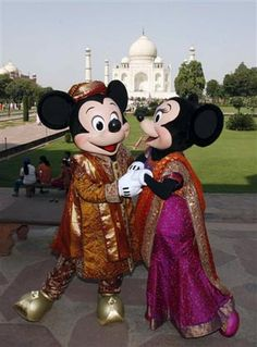 #Mickey & #Minnie Mouse in India #Disney