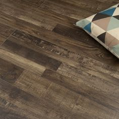 Canadian Collection Quebec Oak V-Groove Solid Wood Flooring, Laminate Flooring, Hardwood Floors, Underfloor Heating, Goods And Services, Engineered Wood, Quebec, House, Inspiration