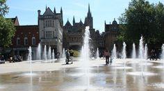 Peterborough town square