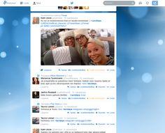 Pöhinää sosiaalisessa mediassa. // Creating buzz on social media.  #LeviDays #Twitter #kaudenavajaiset #LeviLapland #Levi #SocialMedia #buzz #MarikaWork