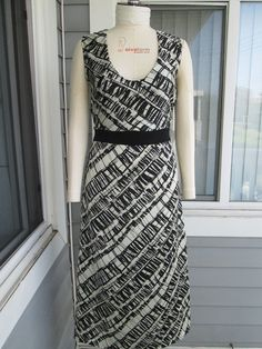 The Long Pattern Day Dress by Yoyce on Etsy, $50.00