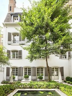Paris? Provence? Nope, East 70th Street. Bunny Mellon's former townhome, all 11,000 square feet of it, is on the market for $46 millio...