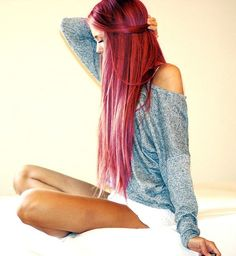 I wish my hair was this long <3
