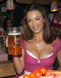 Beer Day, Oktoberfest Beer, Beer Girl, Cute Girl Dresses, Beauty Around The World, Beer Shirts, West Palm Beach, New Moon, Dirndl