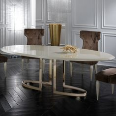 A Premium Selection Of Oval Br Tables Www Bocadolobo Moderndiningtables