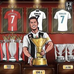 Cristiano Ronaldo is the First Player to win the top glight in England, Spain and Italy - Juventus Turin - Manchester United - Real Madrid Cristiano Ronaldo 7, Cristiano Ronaldo Manchester United, Cristiano Ronaldo Wallpapers, Cr7 Ronaldo, Neymar Jr, Cr7 Messi, Real Madrid Team, Ronaldo Real Madrid, Premier League