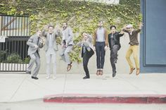 cool spin on the usual 'lets all jump together and look edgy' photo:)