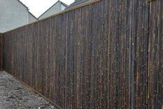 Bamboe rolscherm Black | Gardenonline