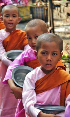 Young Burmese Nuns