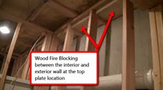 c533e17969fdd22c167d0122c26dd38b basement ideas basement finishing how to fireblock framing img_0493eeeeeeee jpg fire blocking