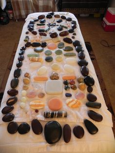 Healing Massage Stones Photo Gallery - Massage & Healing Arts at Bloom Studios - Jerry Coy, LMT