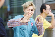 Suho - 160611 MBC Show! Music Core mini fanmeeting Credit: Cotton Peach. (MBC 쇼! 음악중심 미니팬미팅)