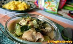 Ginataang Manok with Sayote and Malunggay Recipe