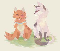 Jake and Tallstar | by ShwiftyBird