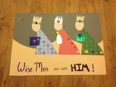 Wise men still seek HIM. Theme for this month kids church.