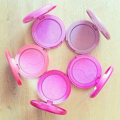 My Tarte blush collection.