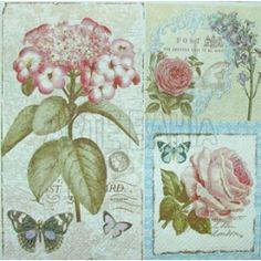 Flores em Quadro Vintage (792)