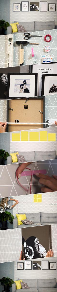 Mach aus deinem Zuhause eine Galerie! Ina von OTTO Roombeez zeigt dir, wie du die Herausforderung, viele Bilder an einer Wand zu platzieren, ganz einfach meisterst. So sorgst du nicht nur für Ruhe, sondern schaffst eine unvergleichliche Raumatmosphäre in deinen vier Wänden.