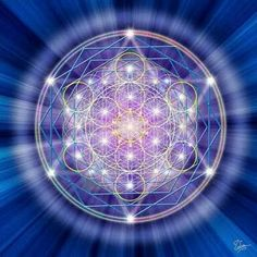 """New Age Thinking: """"The universe is created by a consciousness which manifests in physical reality through a blueprint that we call Sacred Geometry which repeats over and over giving the illusion of linear time.   -Thoth"""""""