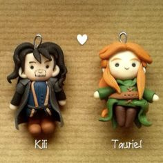 Love! Kili and Tauriel, from The Hobbi pinned because ADORABLE!