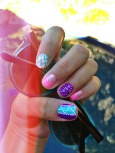 Cute nail design #nails #color
