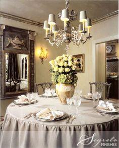 Secrets of Segreto - Segreto Secrets Blog leslie sinclair's dining room