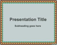 Free Decorative Frame PowerPoint Template is a simple background template for PowerPoint presentations that you can download to make awesome slide designs and digital albums with your own photos and presentation content