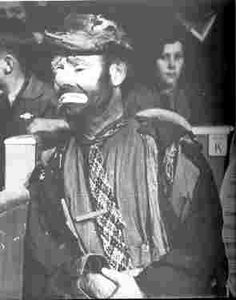 Emmett Kelly, famous USA Tramp/Hobo clown
