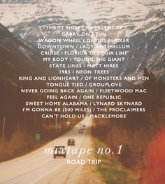 road trip playlist More (summer things road trips) Road Trip Playlist, Song Playlist, Playlist Ideas, Music Lyrics, Music Songs, Indie Music, 80s Songs, Music Mood, Mood Songs