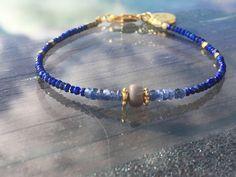 A personal favourite from my Etsy shop https://www.etsy.com/no-en/listing/559514651/blue-sapphire-lapiz-bracelet-lapiz