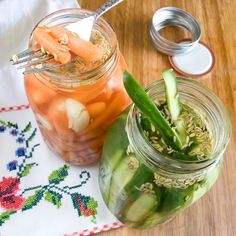 ... on Pinterest | Spicy pickles, Freezer pickles and Refrigerator pickles