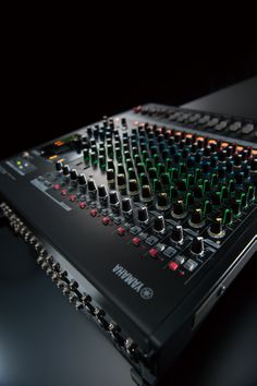 Audio rooms church The Yamaha Not just for live bands and DJs, the MG Series mixing console. Multitrack Recording, Music Studio Room, Professional Audio, Audio Room, Live Band, Internet Radio, Sound Design, Music Stuff, Videos