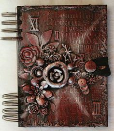 I found on Marta Lapkowska (Maremi's Small Art) - Inspirational Mixed Media on PINTREST Board.