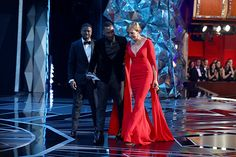 In this handout provided by A., Mahershala Ali and Allison Janney, winner of the Best Supporting Actress award for 'I, Tonya' attend the Annual Academy Awards at the Dolby Theatre on. Mahershala Ali, Allison Janney, Awards, Actresses, Oscars, Image, Female Actresses, Academy Awards