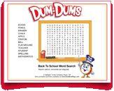 Fun #backtoschool #word #search from #DumDums! Download more seasonal printable activities at DumDumPops.com! Word Search, Back To School, Coloring Pages, Activities For Kids, Printables, Fun, Quote Coloring Pages, Children Activities, Print Templates