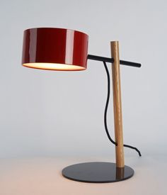 Excel Desk Lamp - Red  by Rich Brilliant Willing | Roll & Hill