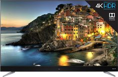 This TCL HDR Roku TV has a refresh rate for smooth display of richly detailed scenes. resolution with HDR Smart TV, Built-in Roku smart platform Clear Motion Index TCL Tv Without Stand, 55 Inch Tvs, 4k Ultra Hd Tvs, Tv Reviews, 4k Uhd, Hd Picture, Smart Tv, Home Theater
