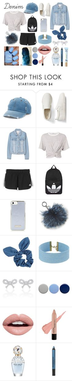 """Denim"" by claudia-holmes27 ❤ liked on Polyvore featuring Mudd, Gap, MANGO, T By Alexander Wang, adidas, Topshop, Michael Kors, Dorothy Perkins, Steve Madden and Burberry"
