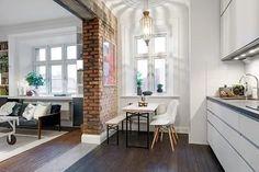 personality. design Swedish apartment Delightful One Room Scandinavian Crib...