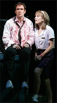 The Wedding Singer — the new musical based on the Adam Sandler film of the same name — officially opens April 27 at the Al Hirschfeld Theatre. Previews for the musical, which played an out-of-town tryout at Seattle's 5th Avenue Theatre, began March 30.