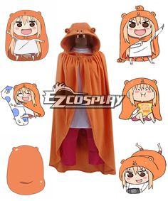 Himouto! Umaru-chan Umaru Doma Flannel Cosplay Cloak