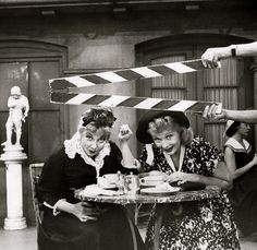 Lucille Ball and Ann Sothern