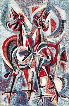 Ang Kiukok, (Filipino painter, Roosters, in. Sotheby's (sold in Entryway Art, Filipino Art, Philippine Art, Mid Century Art, Global Art, Contemporary Paintings, Figurative Art, Sculpture Art, Amazing Art