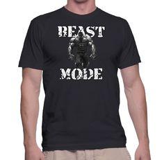 Beast Mode Hulk T SHIRT Gym Wear Workout Training Clothes Black Tee T-shirt 3 #Custom #BassicTee