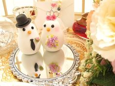 LOVEANGELS wedding cake toppers