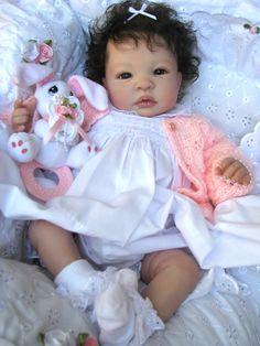 Reborn Baby Doll Gorgeous Keisha Shyann by Aleina Peterson in Dolls & Bears, Dolls, Reborn Reborn Babies Black, Reborn Babies For Sale, Baby Dolls For Sale, Life Like Baby Dolls, Real Baby Dolls, Realistic Baby Dolls, Baby Girl Dolls, Black Baby Dolls, Reborn Babypuppen