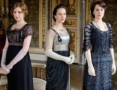 Love Downton Abbey, and all of a sudden I want a pair of elbow length gloves....and a sweet beaded 'frock'