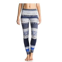 13b35a46c4fbc Roxy Womens Salty Geo Legging Souk Paisley Swim Combo Sea Spray Medium      Details can be found by clicking on the image.
