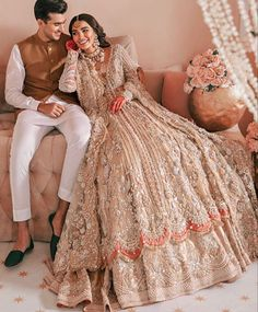 Asian Bridal Dresses, Pakistani Bridal Dresses, Bridal Lehenga, Walima Dress, Shadi Dresses, Bridesmaid Outfit, Bridesmaids, Desi Clothes, Festival Outfits
